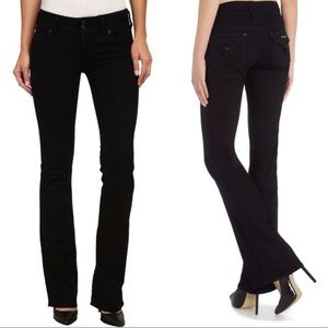 HUSDSON Jeans Black Flat Pocket Flare Leg
